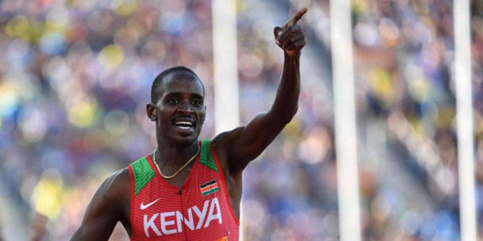 Doping: 2 anni di squalifica per il keniano Elijah Manang'oi, ex campione del mondo dei 1500 metri