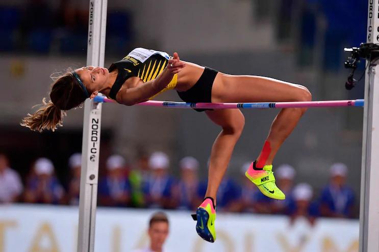 Alessia Trost esordisce alla grande all' Udin Jump Development nel salto in alto