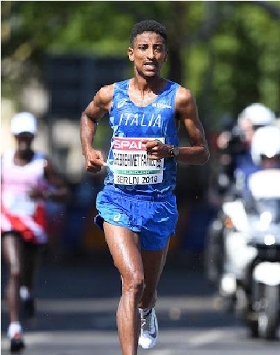 Eyob Faniel è volato in Kenya per prepare le Olimpiadi