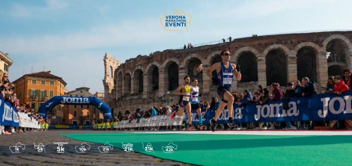 Spostata pure La Giulietta&Romeo Half Marathon