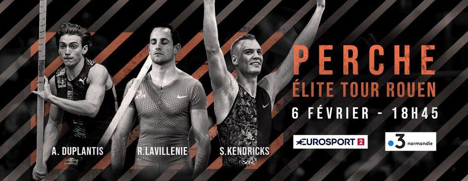 Duplantis e Lavillenie si scontreranno stasera a Clash a Rouen (Francia)