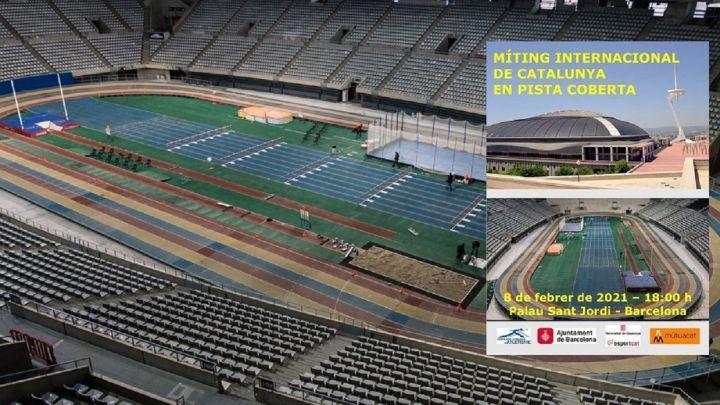 """Mega palazzetto indoor"" ospita stasera in Spagna l'International Indoor Track Meeting della Catalogna-LIVE STREAMING"