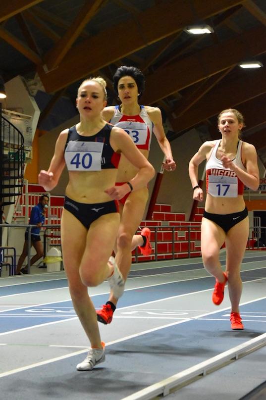 Federica Del Buono migliora ancora a Madrid nei 1500 metri indoor