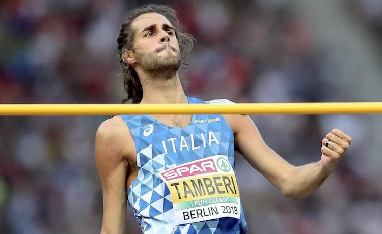 Gianmarco Tamberi secondo nell' alto in Repubblica Ceca