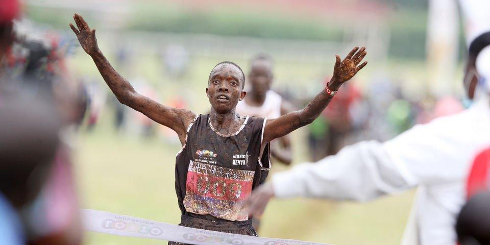 """Kwemoi batte i """"pezzi grossi"""" e vince il titolo di cross country del Kenya"""