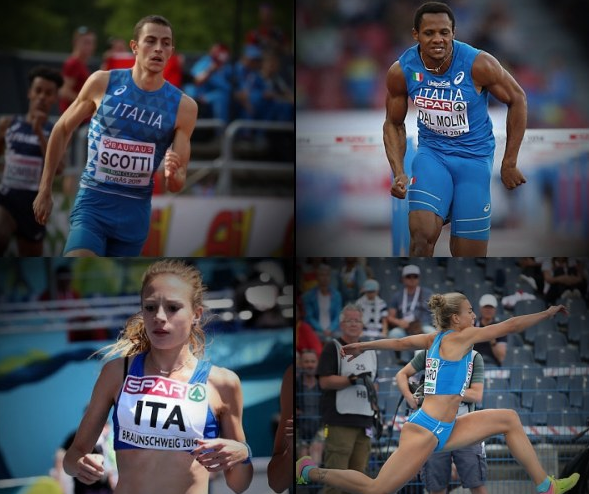 "Scotti, Dal Molin, Federica Del Buono,  Elisa Di Lazzaro e Ottavia Cestonaro in gara oggi a Madrid ""World Athletics Indoor Tour""- La diretta streaming"