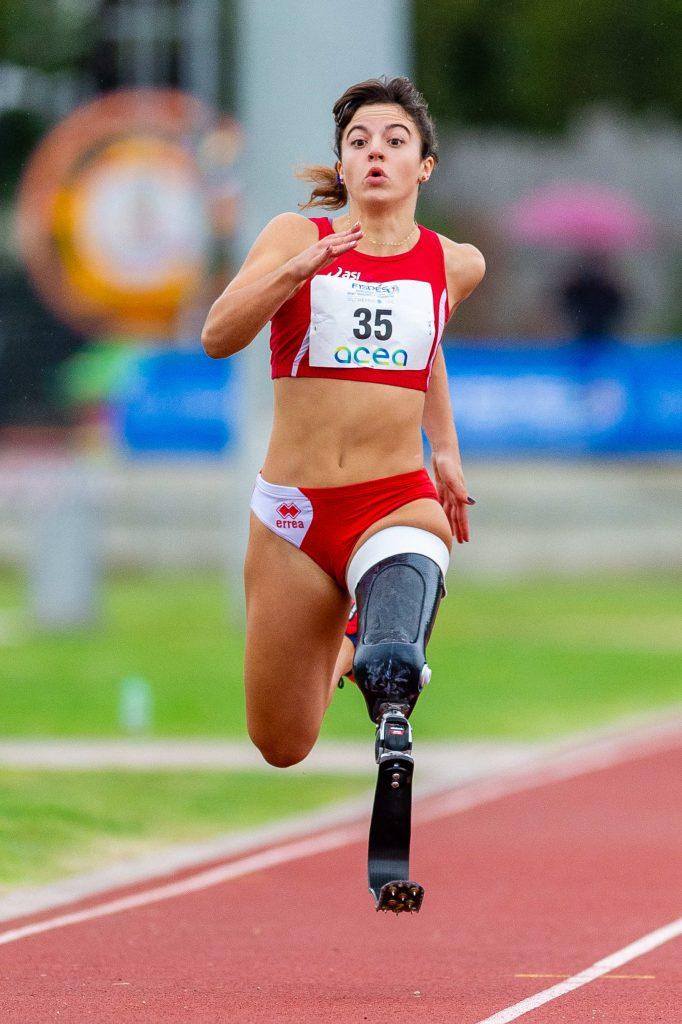 Reocord mondiale di Ambra Sabatini  nei 100 metri paralimpici