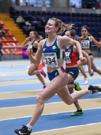 Impressionante record di Ludovica Galuppi nei 60 metri allievi ad Ancona