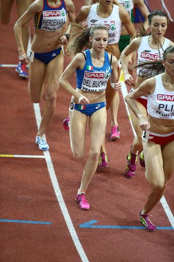 Federica Del Buono ritorna dopo 5 anni negli 800 metri di Padova