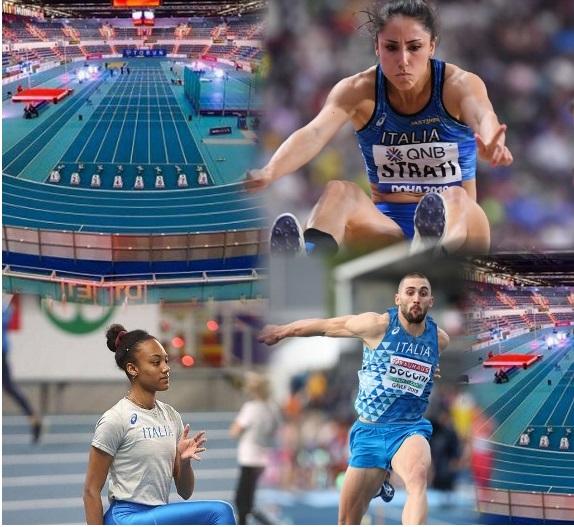 Europei Torun 2021:Larissa Iapichino (Lungo) di forza in finale insieme a Laura Strati (Lungo) e Tobia Bocchi (Triplo)