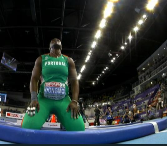 Europei Torun 2021: la portoghese Auriol Dongmo nel peso  vince il primo oro dei campionati