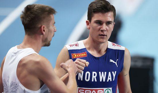 La lunga notte di Jakob Ingebrigtsen nei 1500 metri, prima la squalifica poi l' oro a Torun