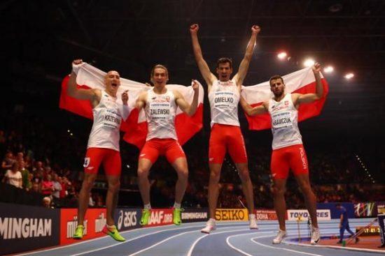 Europei Torun 2021: il Coronavirus esclude dalla finale la staffetta 4x400m maschile della Polonia