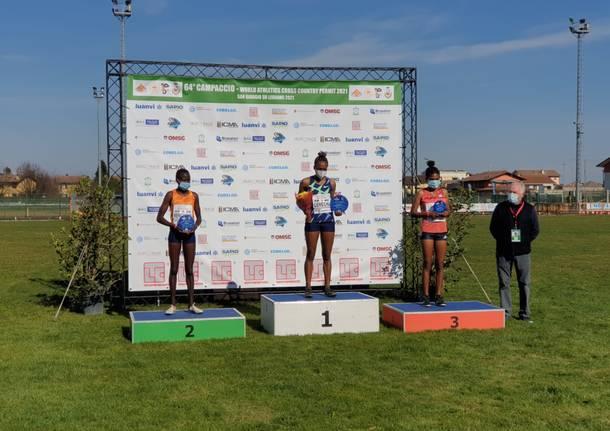 Risultati Campaccio donne:  vince l'etiope Tsehai Gemechu, sesta Francesca Tommasi
