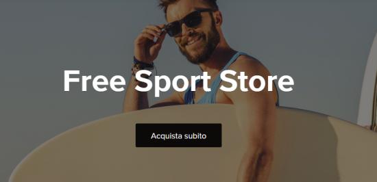 Presentato in anteprima per l'Italia il sito di moda e sport
