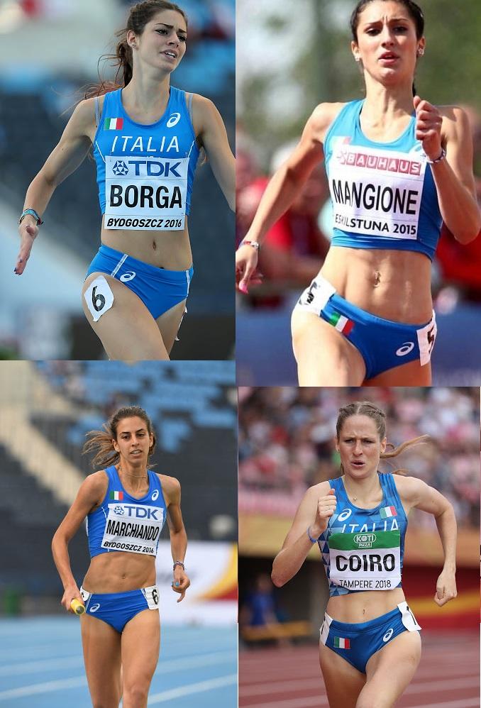 Europei Torun 2021: record italiano per le ragazze della staffetta 4x400 metri azzurra ad un passo dal podio