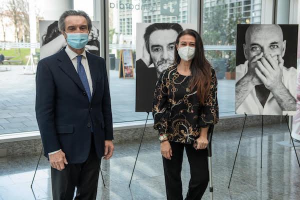 """8 marzo - Giusy Versace e il pres. Fontana presentano """"I Muri del Silenzio"""""""
