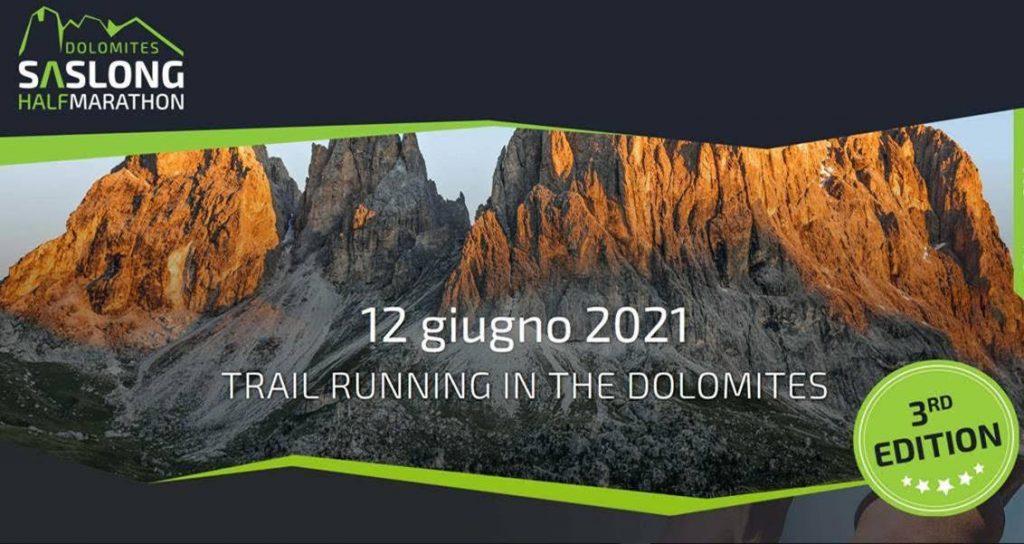 La Dolomites Saslong Half Marathon alla terza edizione