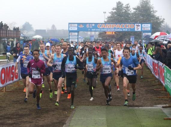 Campaccio Cross Country, start list top runner e streaming