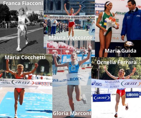 """Acea Run Rome The Marathon Oggi 8 marzo celebriamo le 6 donne italiane vincitrici della maratona a Roma: """"La maratona è per le donne che non si arrendono�"""