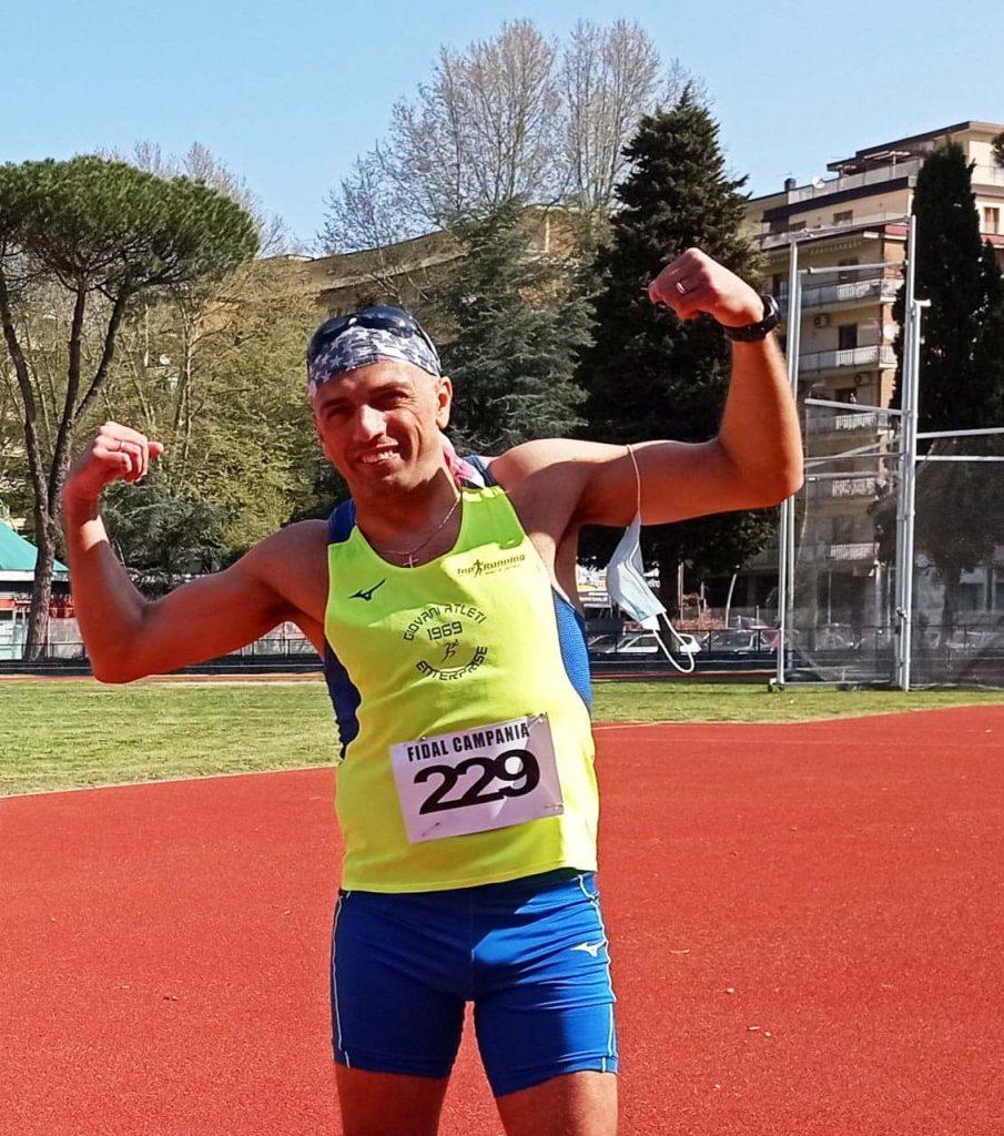 """ATLETICA Marcia: per il marciatore di Caserta """"Magliulo"""" prima gara del 2021 ed è subito nuovo record italiano"""