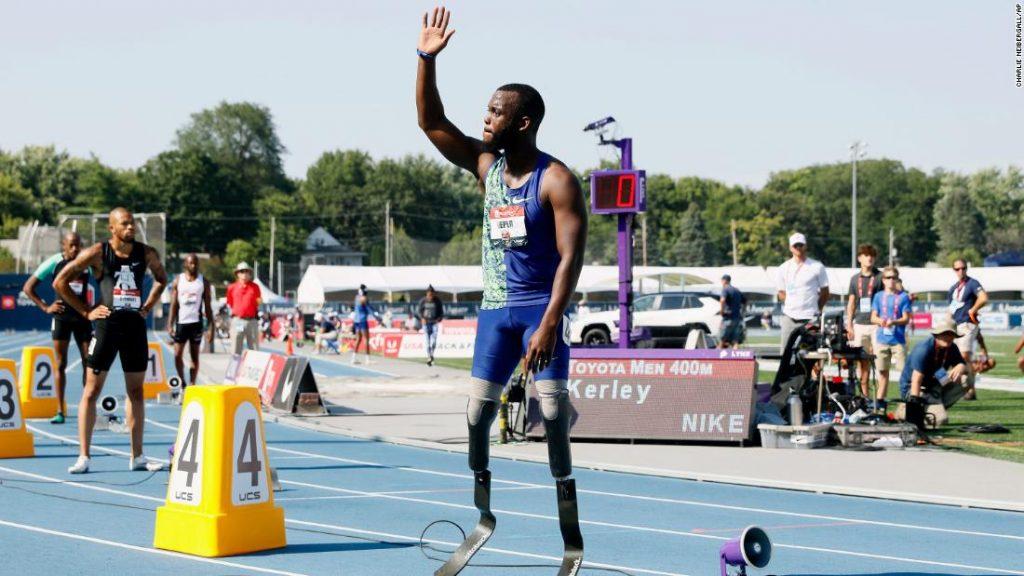 Il velocista doppio amputato Blake Leeper non potrà partecipare alle Olimpiadi di Tokyo con gli atleti normodotati