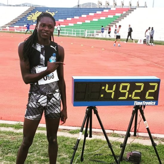 Christine Mboma 49_22 World junior record