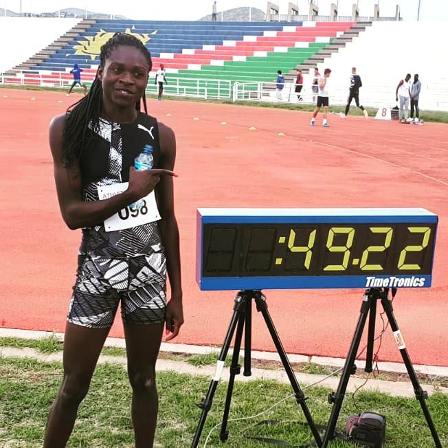 Grandiosa Christine Mboma: migliorato ancora il record mondiale juniores dei 400 metri