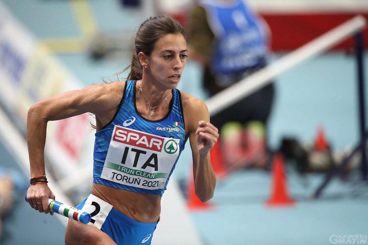 Grande miglioramento per Eleonora Marchiando nei 400 metri del Trofeo Atletica Meneghina all'Arena di Milano
