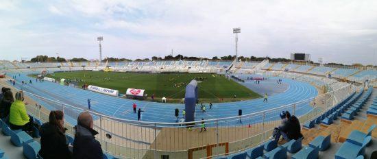 La carica dei 300 in sicurezza allo stadio Adriatico di Pescara per il Meeting di Atletica Leggera Uisp
