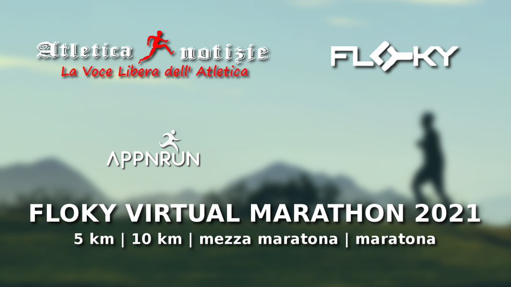 "Domenica 18 aprile parte la ""Floky Virtual Marathon 2021-Corri per Vincenza Sicari"""