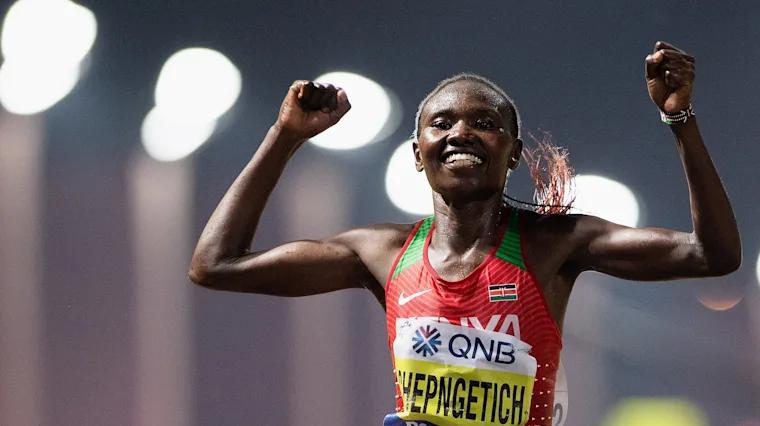 Record del Mondo di Ruth Chepngetich nella mezza maratona a Istanbul