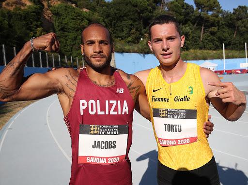 Tortu vs Jacobs al Meeting di Savona il 13 maggio in diretta TV
