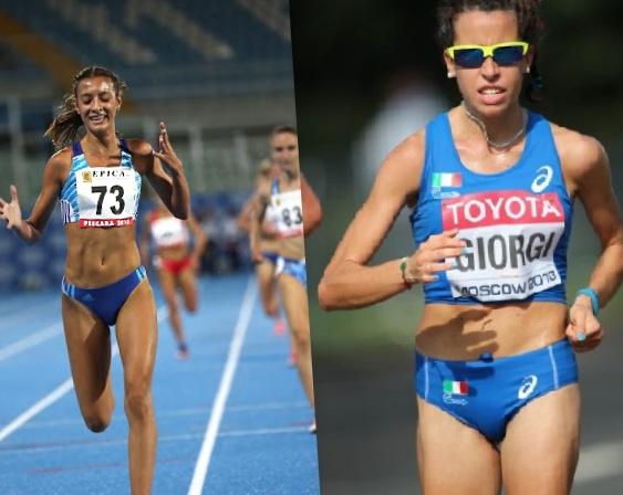 Nadia Battocletti ed Eleonora Giorgi in gara all'Arena di Milano il 24 aprile-LA DIRETTA STREAMING