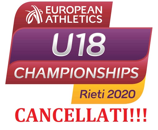 Addio agli Europei Under 18 di Rieti 2021, cancellati!