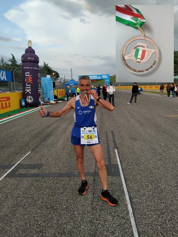 """Quando la passione diventa una gioia nel sacrificio: l'atleta di Caserta """"Remo Morelli"""" conclude la 100 km di Imola"""