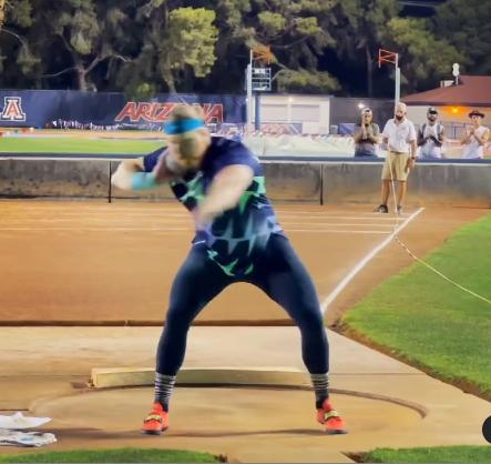 Ryan Crouser sfonda la barriera dei 23 metri nel getto del peso- IL VIDEO