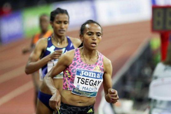 Gudaf Tsegay debutta nei 10000 con un pazzesco 29: 39.42
