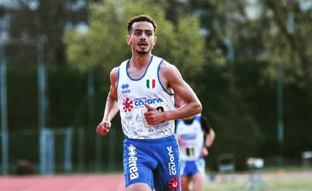 Iliass Aouani grande miglioramento  sui 10.000 metri a Ostrava