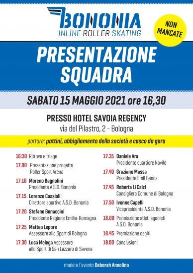 CS_ Pattinaggio, presentazione SAB 15 MAG