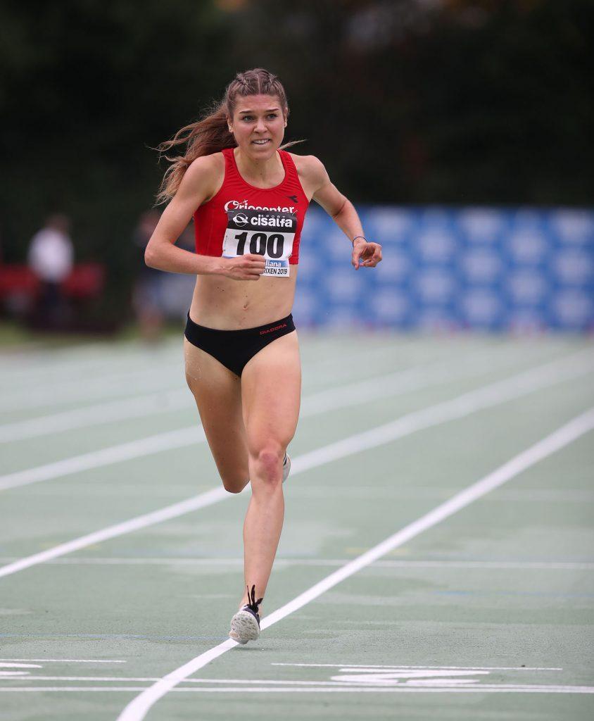 Marta Zenoni vince i 5000 metri a Zogno (Bergamo) avvicinando il PB