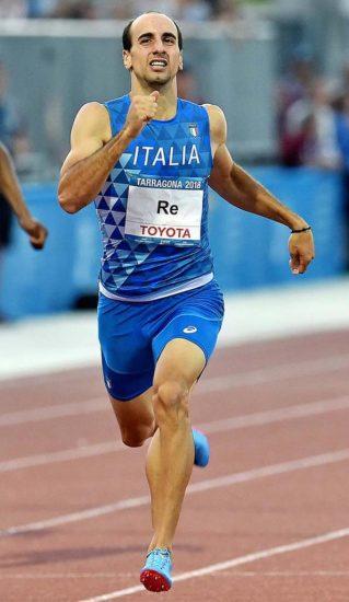 Davide Re a Rieti corre i 500 metri in 1:01.21
