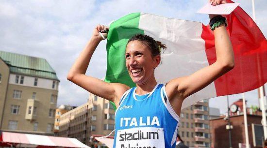 Antonella Palmisano splendido oro agli Europei a squadre di Podebrady nella 20 km di marcia