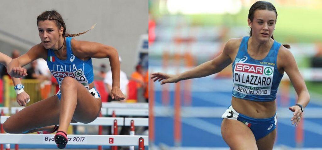 Luminosa Bogliolo e Elisa Di Lazzaro sotto i 13 secondi nei 100 metri ostacoli a Savona