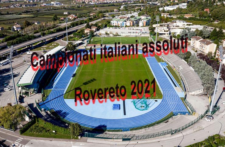Assoluti Rovereto: online il programma orario