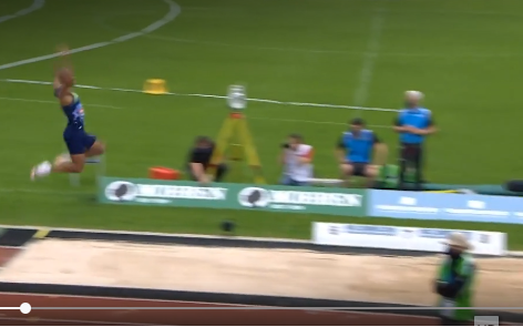 Record Mondiale nel salto in lungo (decathlon) di Damian Warner- IL VIDEO