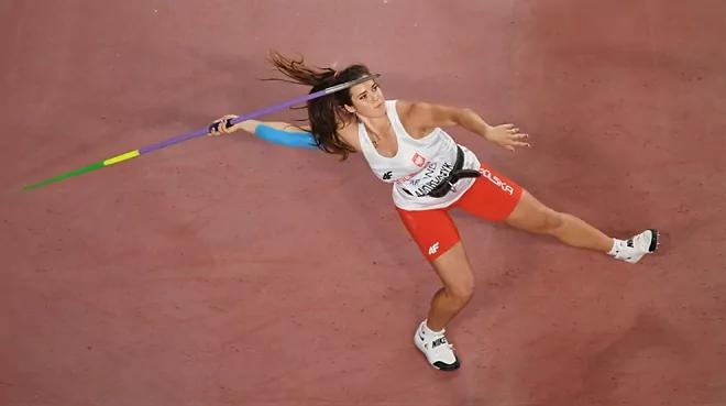 Sfiorato il record del mondo di giavellotto dalla polacca Maria Andrejczyk