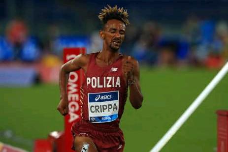 Yeman Crippa si  ferma nei 1500 metri a Trento a causa del meteo