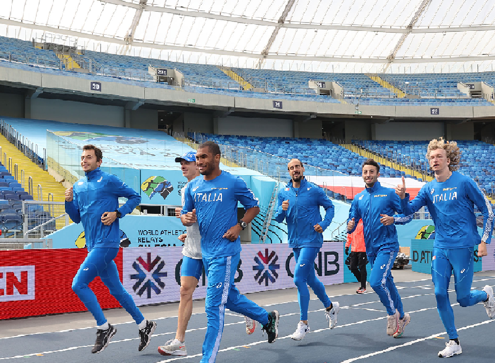 World Relays Chorzow: La 4x400 metri maschile in finale