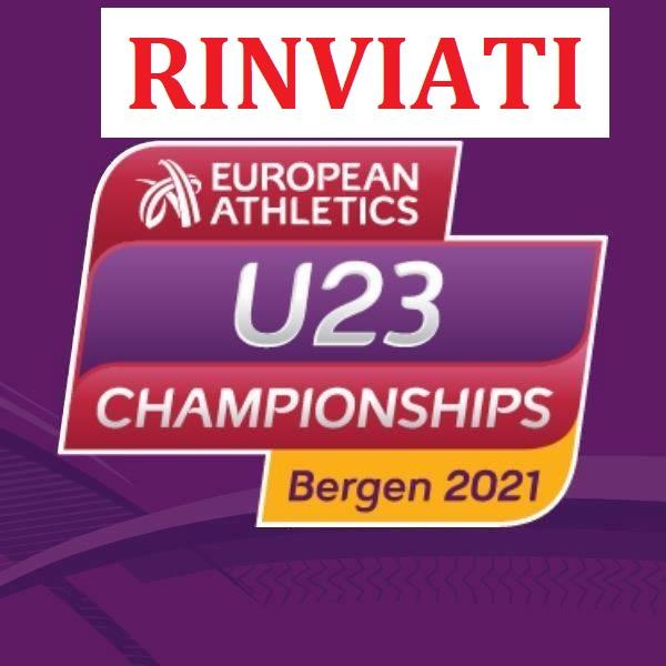 RINVIATI i campionati europei U23,  non si svolgeranno più a Bergen
